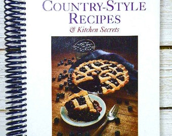 Vintage Mennonite Cookbook - Mennonite Country-Style Recipes & Kitchen Secrets – Vintage 1100 Recipes, Cooking Tips, Charts – Award Winner
