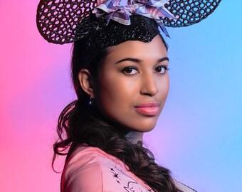 Mouse Ears headdress headpiece Halloween cosplay cute, hand drawn Disney