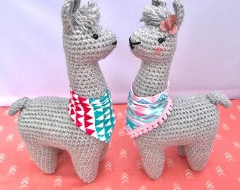 Crochet Plushie Llama, Llama Toy, Unique Gift, Stuffed Alpaca, Crochet Alpaca