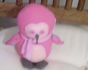 Penelope the pink penguin