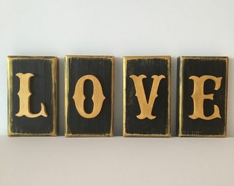 Love photo blocks