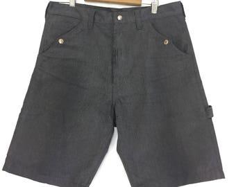 Vintage Needles sportwear shortpant/grey/waist 33/34 / made in japan