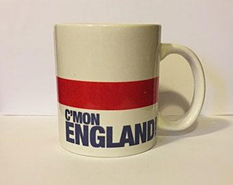 C'mon England! Awesome, Vintage large mug