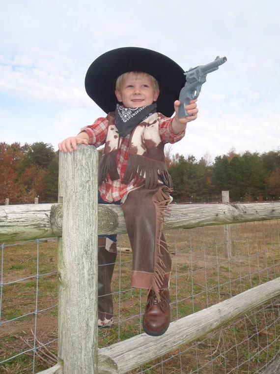 Sewing Pattern Cowboy Chaps, sizes 12 mo to 3T, beginner sewing ...