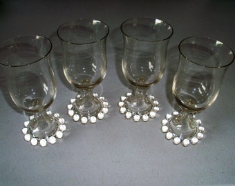 Imperial Candlewick 400-190 Set Of 4 Water Goblets