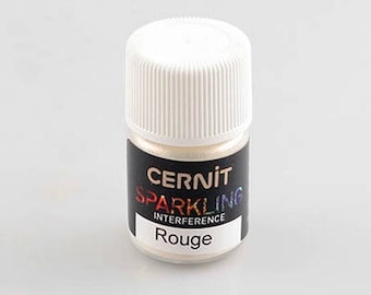 CERNIT SPARKLING Interference red Mica powder