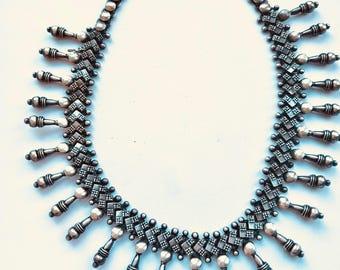 Vintage Silver Tribal Jewelry