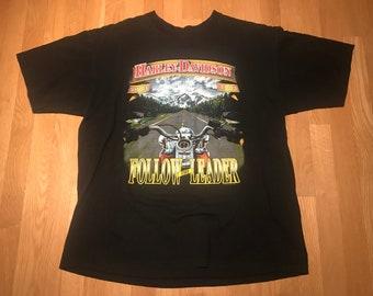 Vintage Harley Davidson Graphic T Shirt