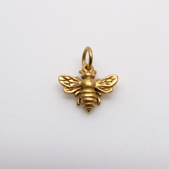 Bumble Bee Charm Ring