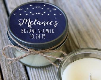 12 - 4 oz Hanging Lights// Bridal Shower Favor//Soy Candle Favor//Personalized Wedding Favor//Shower Favor//Candle Favors//