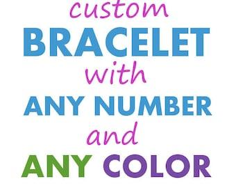 Chemistry Jewelry - Custom  STEM Sciart Bracelet - Chemistry Science Teacher Christmas Graduation Gift