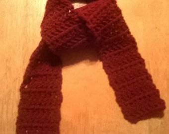 Handmade Children's Crocheted Scarf