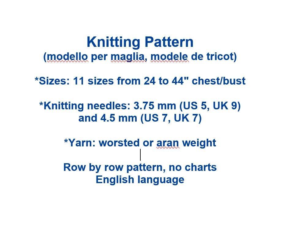 Aran Turtleneck Sweaters Vintage Knitting Pattern Fisherman Pullover ...