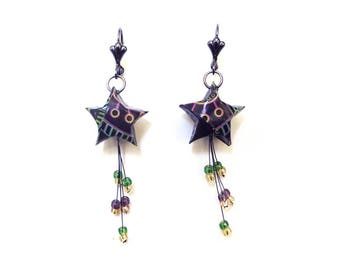 """"" Shooting star earrings"