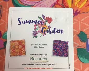 "Summer Garden 10"" x 10"""