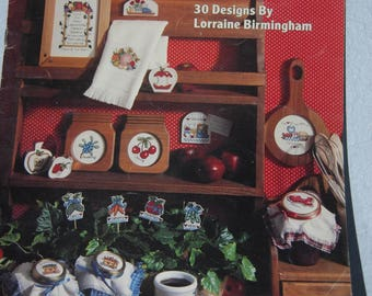 QUICK KITCHEN STITCHIN' Cross Stitch Patterns