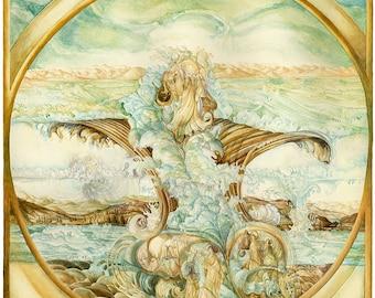 Harri Aalto - Full Circle - Fine Art Print