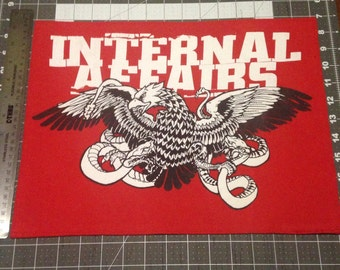 Internal Affairs back patch