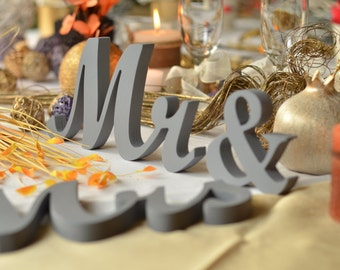 Wedding Table Mr and Mrs Sign Wood wedding sign  Collection wedding signs