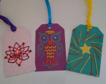 Inventory Clearance Priced -- Embellished Gift Tags