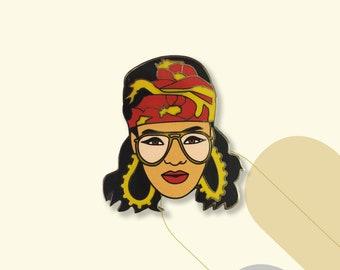 Rihanna Enamel Pin/Badge // Brooch/Lapel Pin // Pins & Pinback Buttons