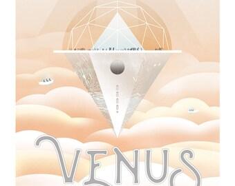 Affiche / poster NASA Venus 50x70cm