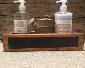 Rustic Planter Box - decorative box, wooden planter box, centerpiece box