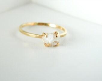 White Druzy Gold Ring, Druzy Rings, Engagement Ring, Agate Rings, Druzy Gemstone Rings, Gold Rings, Solitaire Rings