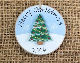 Christmas Tree Ornament~ Favor~ Tag