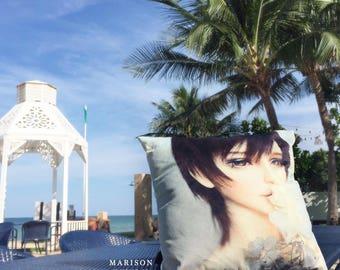MARISON Cushion / Pillow - Printed with BJD , Doll photo / Decorative cushion