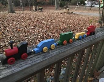 Mini Wooden Train