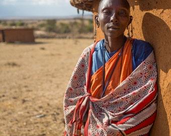 Maasai Mary - archival fine art fiber print