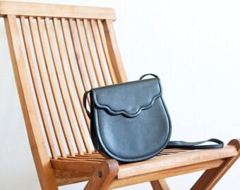 Vintage YSL bag / black crossbody bag