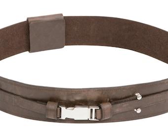 Star Wars Anakin Skywalker Brown Replica Leather Jedi Belt