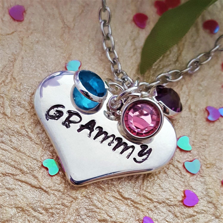 Custom grandma birthstone necklace lds jewelry gift for grammy custom grandma birthstone necklace lds jewelry gift for grammy personalized birthstone jewelry gift for mimi mother wife new mom gift aloadofball Gallery
