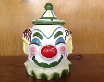 Vintage Sierra Vista Clown Cookie Jar