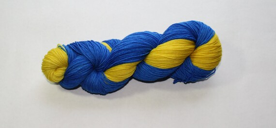 Wolverines Hand Dyed Sock Yarn