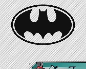 Vinyl Decal- Batman Logo