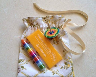 Gift bags with goodies