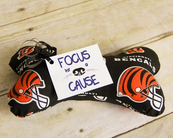 Cincinnati Bengals Dog Toy or YOU PICK the TEAM Dog Squeaky Toy, Dog Toy, Dog Bone, Squeaky Toy, Sports, Baseball, Football, College