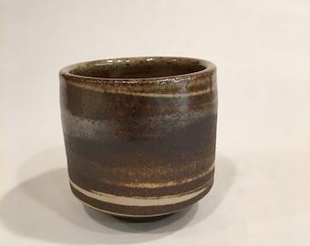 Handmade Ceramic Cup, Pottery Tea Cup, Yunomi, MRCH18MCC3