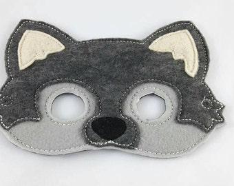 Woodland Mask, Wolf Mask