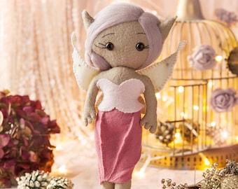 Felt Fairy Sewing Kit Lilian -DIY