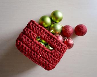 Cord basket PDF - DIY basket - Cord basket pattern - Crochet basket for storage - Toy basket - Written instructions for basket - Rope basket