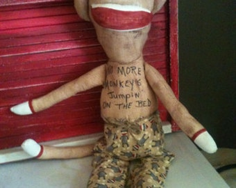 Primitive Sock Monkey