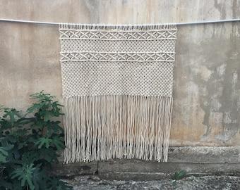 Macrame wall hanging, woven wall hanging, woven wall tapestry, boho wall hanging, wall tapestry, macrame, boho home decor, textile hanging