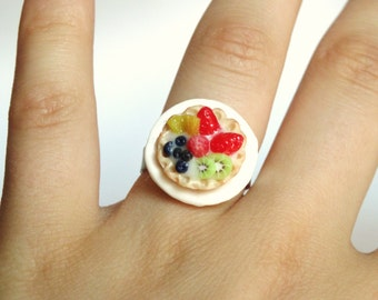 Fruit Tarte Ring ! For a Tea-Party!