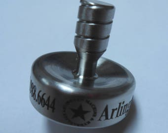 Laser Engraved Spinning Top