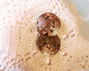 Timeless Vintage Clip On Earrings!