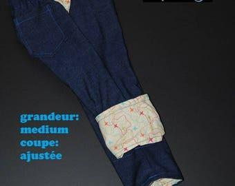 Scalable jeans, size medium, slim fit, planes